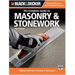 Black & Decker 191658 Book, The Complete Guide To Masonry And Stonework, 3Rd Edition
