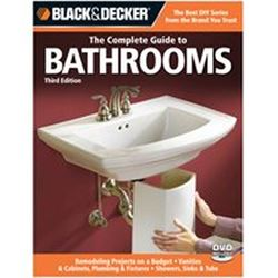 Black & Decker 192526 Book, The Complete Guide To Bathrooms, 3Rd Edition
