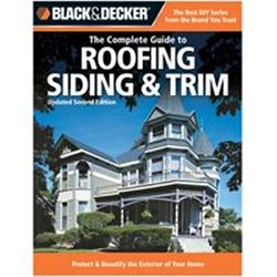 Black & Decker 151496 Book, Roofing Siding And Trim