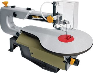 Rockwell Corded Scroll Saw, 120 V, 1.2 A, 1/5 hp, 3/4 in Stroke, 500 - 1700 spm