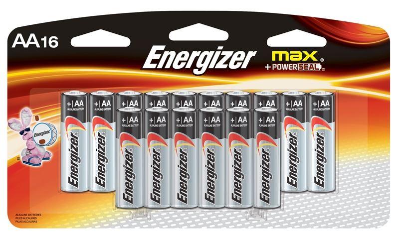 Rechargeable Alkaline Batteries >> Energizer E91lp 16 Non Rechargeable Alkaline Battery 1 5 V