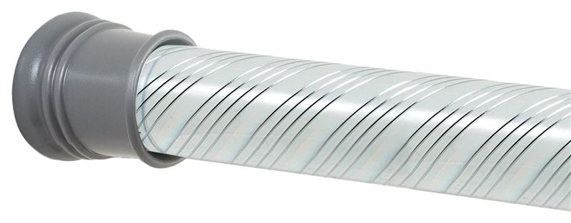 Zenith 804ss Shower Curtain Rod 1 1 4 In Dia X 72 In L Steel
