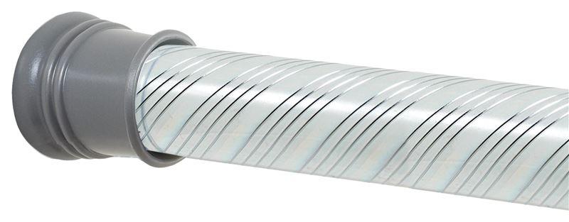 Zenith 804ss Shower Curtain Rod 1 1 4 In Dia X 72 In L Steel