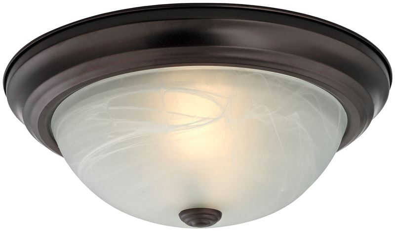 Prosource 4137808 Dimmable Ceiling Light Fixture 2 60 W