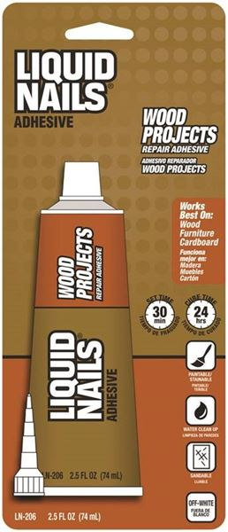 Liquid Nails/ppg Ln-206 Wood Projects #VORG4505574, LN-206