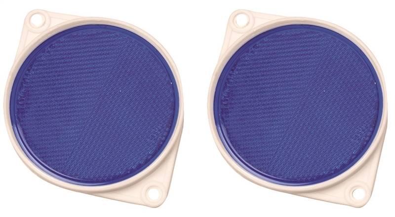 "1-1//4/"" 6-Pack Hy-Ko CMR-10 Self-Adhesive Press-On Mini Reflectors Assorted"