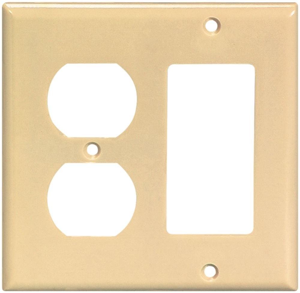 Cooper Wiring 2157v Box Ivry Comb Deco Plt2g 10 Pack Vorg6088835 Wall Plates