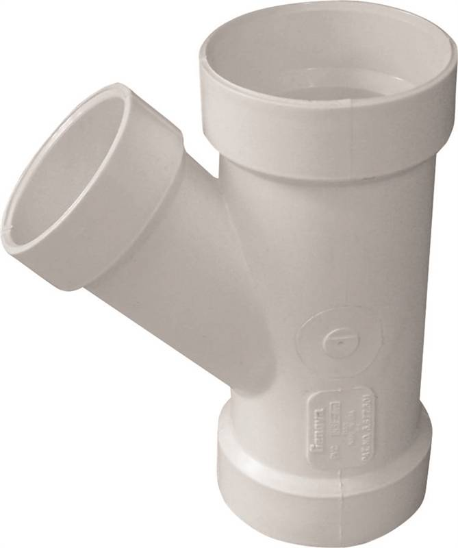 Genova Products 71031 Wye Pipe Fitting 3 x 1 1//2