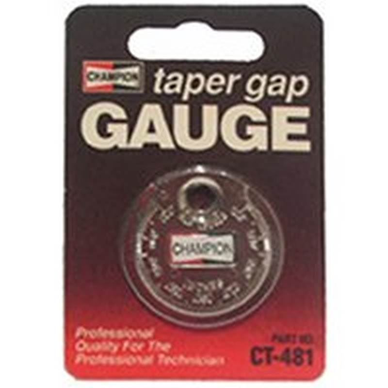 CHAMPION CT481 Taper Gap Gauge-Each
