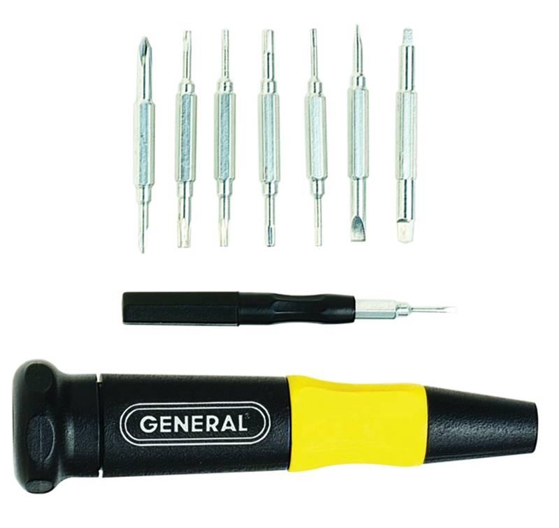 General Tools 744DB 4 in 1 Pocket Screwdriver
