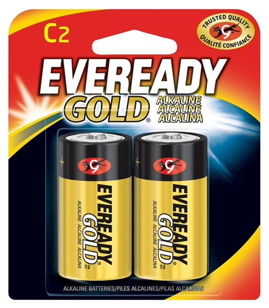 Eveready Gold A93bp 2 General Purpose Alkaline Battery 1 5 V C