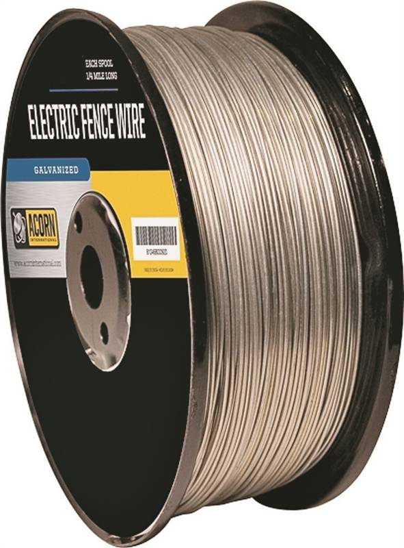12.5 Gauge High Tensile Electric Fence Galvanized Wire Electric Fence 4000ft