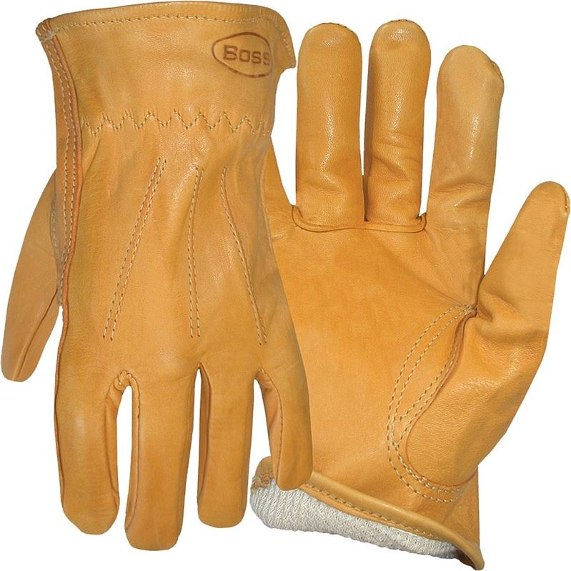Jumbo Boss Gloves 7179J Boss Therm Insulated Split Cowhide Leather Driver
