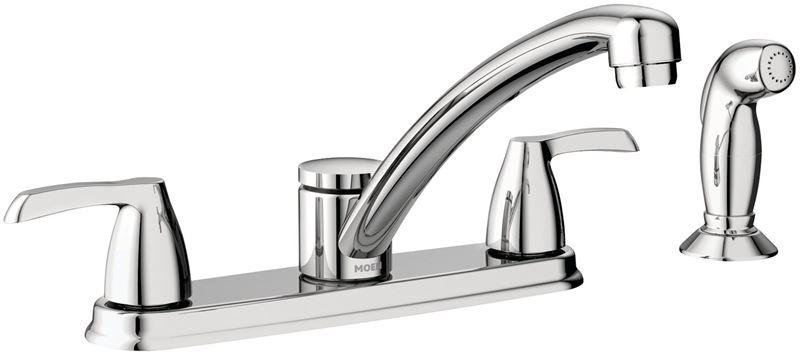 Moen Adler Ca87681 Kitchen Faucet 9 1 4 In X 5 1 4 In Spout 8