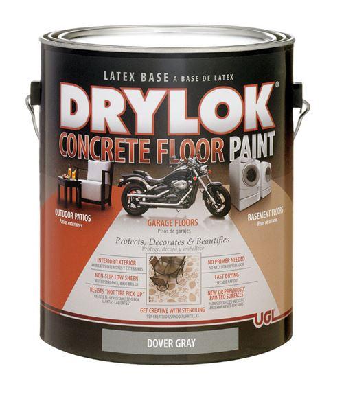 Drylok Low Sheen Floor Paint Dover Gray 1 Gal Voc