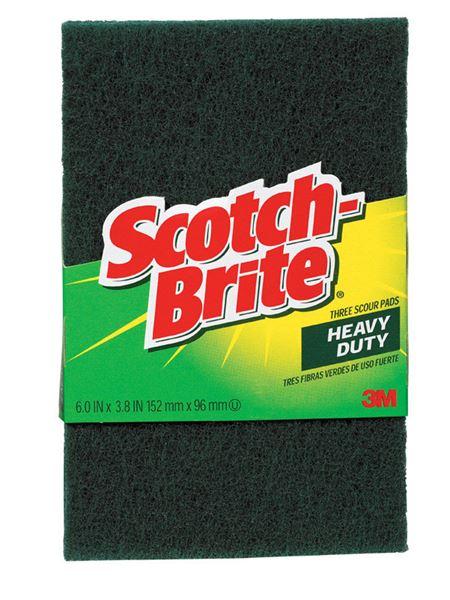 3m Scotch Brite For Multi Purpose Scouring Pads 3 8 In W X 6 In L 3 Pk Vshe17443 220