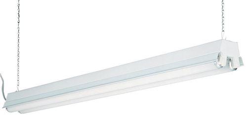 Lithonia Lighting 48 in. L 2 lights T12 Fluorescent Light Fixture ...
