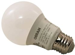 Sylvania 74081 Non-Dimmable Semi-Directional LED Lamp, 6 W, 120 V, A19, Medium, 11000 hr