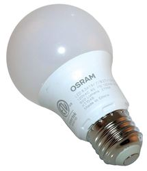 Sylvania 73886 General Purpose LED Lamp, 8.5 W, 120 V, A19, Medium, 11000 hr