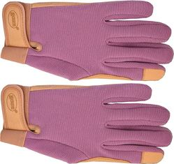 Goatskin Boss Guard 793M Protective Gloves, Women's/Medium, Grain Goatskin/Spandex Back