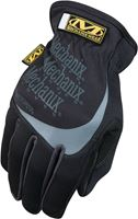 Mechanix Wear MFF-05-009 General-Purpose Work Gloves, M, Elastic Cuff, Keystone Thumb, 9 in L, Black