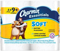 CHARMIN 96798 Gaint Roll Soft Bathroom Tissue, 2 Ply, White 10 Pack