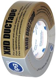 Intertape 9601 Heavy Duty Duct Tape, 1.87 in W x 30 yd L x 10 mil T, Poly Coated Cloth Backing