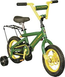 Tomy 34938 Heavy Duty Bicycle With Training Wheels, 12 in, 3 Years And Up, 12 in Front, 12 in Rear