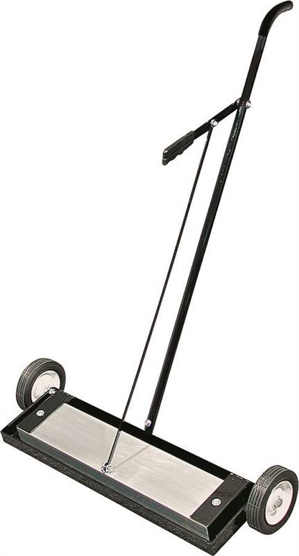Master Magnetics MFSM24RX Magnetic Sweeper, 400 lb Load, 24 in Sweep 30-1/4 in W