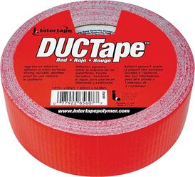 Intertape 20C-R2 Duct Tape, 1.87 in W x 60 yd L, Poly Coated Cloth Backing, Red?, Utility