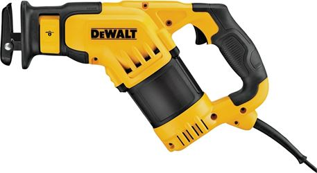 Dewalt DWE357 Compact Corded Reciprocating Saw, 120 V, 10 A, 1-1/8 in Stroke, 0 - 2800 spm