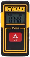 DeWALT DW030PL Pocket Laser Distance Measurer, Lithium-Ion Battery, LCD Display