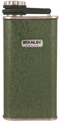 STANLEY Classic 10-00837-045 Flask, 8 oz Capacity, Stainless Steel, Hammertone Green