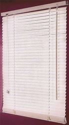 FWB-47X64-3L Faux Wood Blind, 64 in L x 47 in W, White 4 Pack
