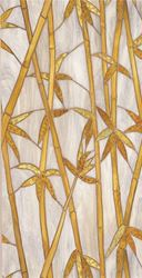 Artscape Bamboo Decorative Window Film, 24 in W x 36 in L x 0.007 in T, Stained Glass 4 Pack