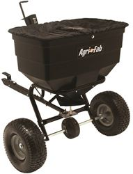 Agri-Fab 45-0329 ATV Tow Behind Spreader, 175 lb, 40000 sq-ft, Grass Seed, Fertilizer and Salt