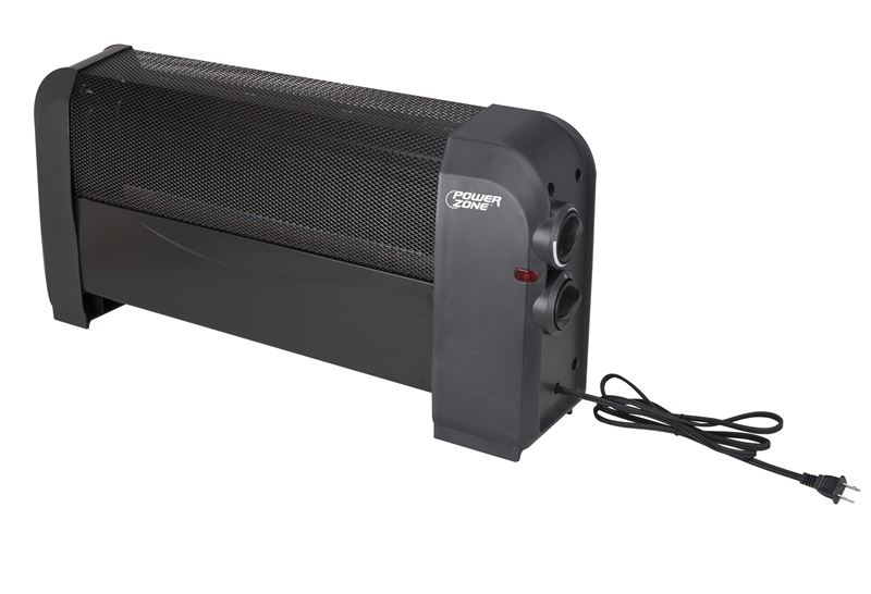 Powerzone Heater Baseboard Electric Blk