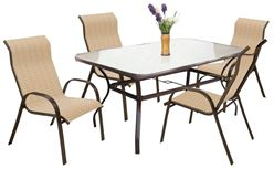 T6R60KOHJ33 Dining Table, 60 in W x 38 in H, Glass