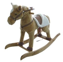 Holiday Basix 27956 Animated Rocking Horse, 29 in 2 Pack