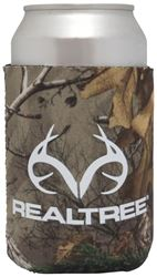 SEI/Realtree Camo Magnetic Can Cooler, 12 oz, Camo White Body, 5 in W x 4 in L Exterior 12 Pack