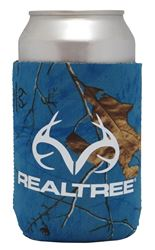 SEI/Realtree Camo Magnetic Can Cooler, Surf Blue Body, 5 in W x 4 in L Exterior 12 Pack