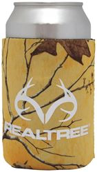 SEI/Realtree Camo Magnetic Can Cooler, Tropical Heat Body, 4 in W x 8 in L Exterior 12 Pack