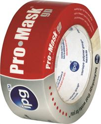 Intertape 5104-3 Masking Tape, 2.81 in W x 60 yd L, Beige, Synthetic Adhesive