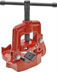 Superior 02816 Heavy Duty Pipe Vise, 1/8 - 2 in Pipe, Alloy Steel Jaw/Malleable Frame