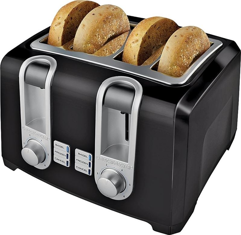 Applica Consumer Products T4569b B&d 4sl Cool Toast Blk