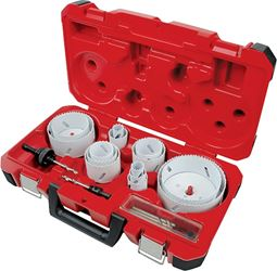 19PC ELECTRICIANS HOLE SAW KIT