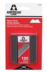American LINE 66-0240-0000 Utility Blade, Carbon Steel/Plastic