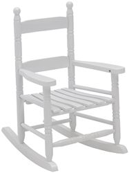 Holiday Basix KN-10-W Childs Rocking Chair, 29 in
