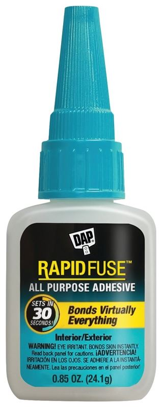 DAP 00155 Adhesive, Clear, 0.85 oz Bottle