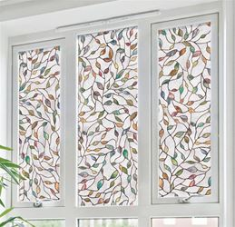 Artscape 02-3021 New Leaf Decorative Window Film, 24 in W x 36 in L 4 Pack